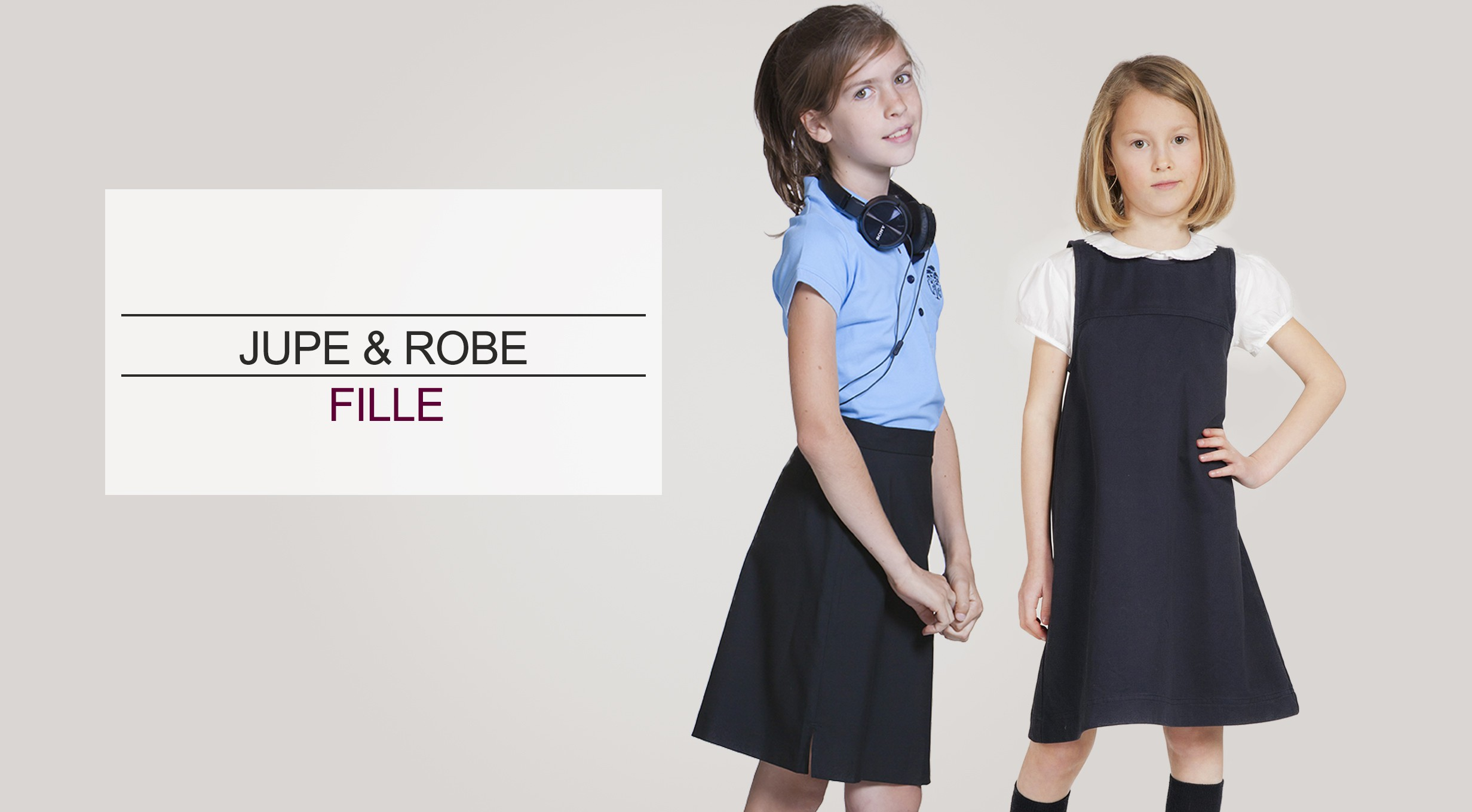 Acanthe jupe robe fille