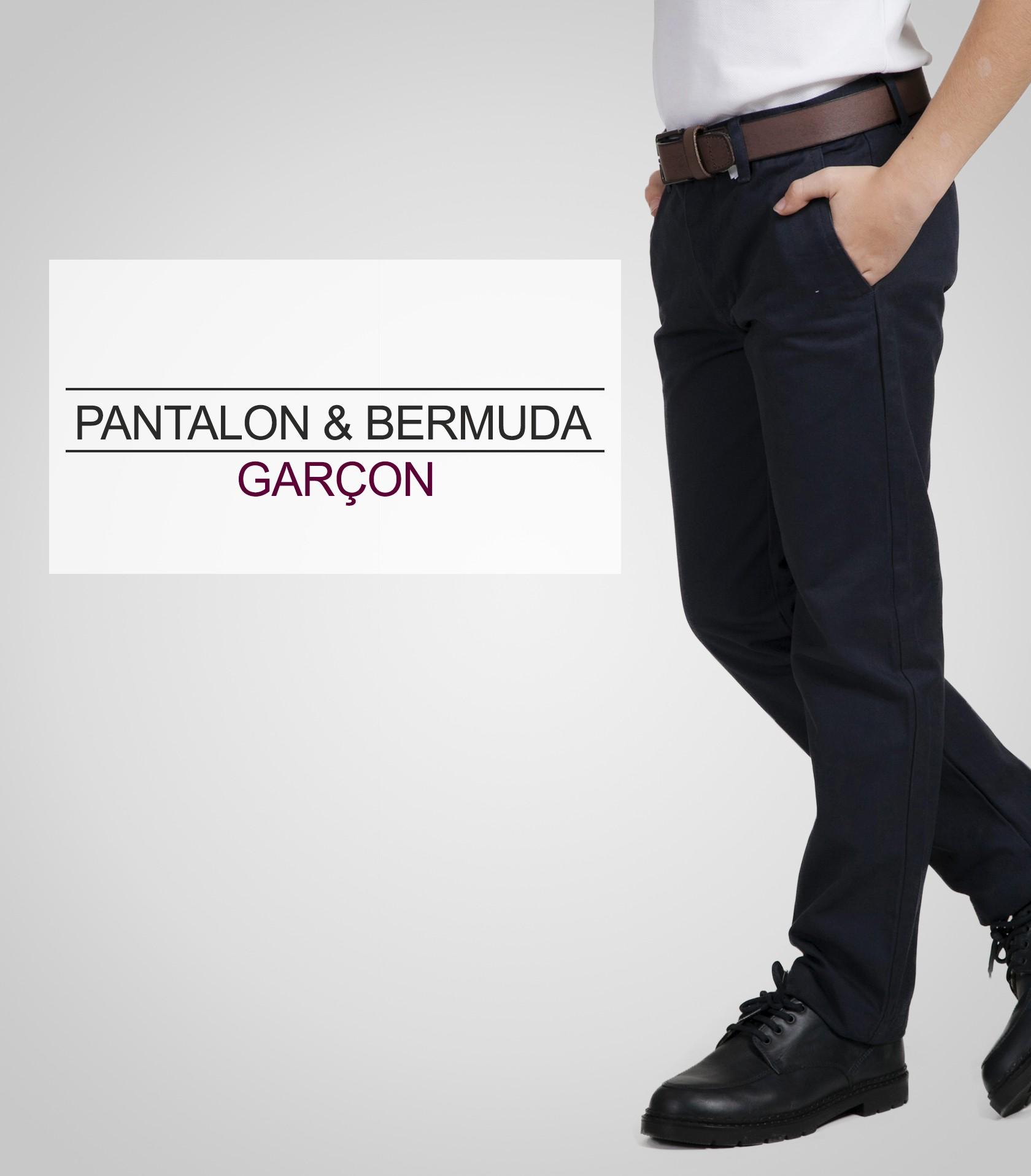 acanthe pantalon bermuda garçon